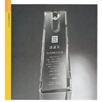 【20%OFF】オリジナルガラス製トロフィー
