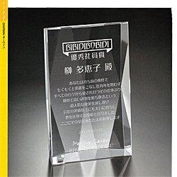 画像1: 【20%OFF】オリジナルガラス製楯